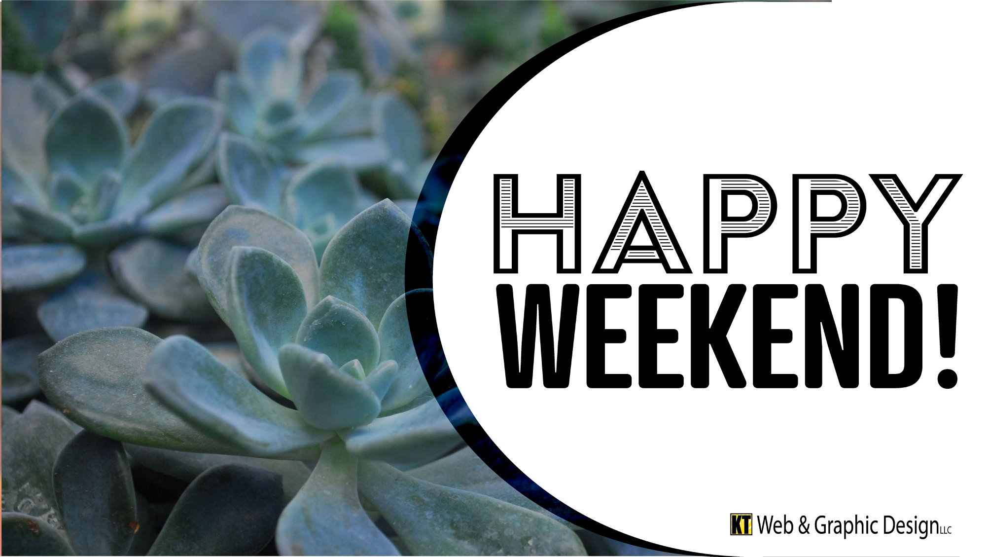 Happy Weekend Graphic